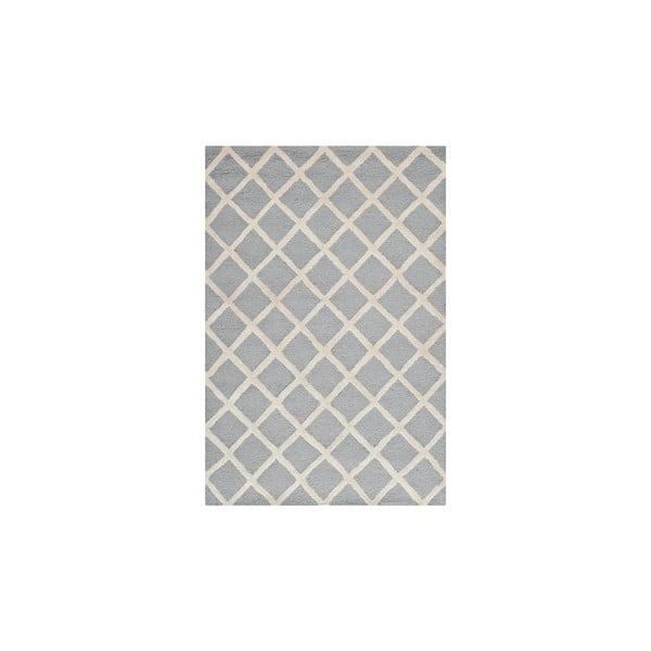 Dywan wełniany Sophie Light Blue Grey, 121x182 cm