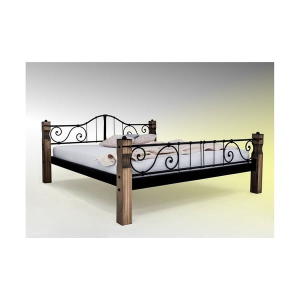 Łóżko metalowe Classic Lauren