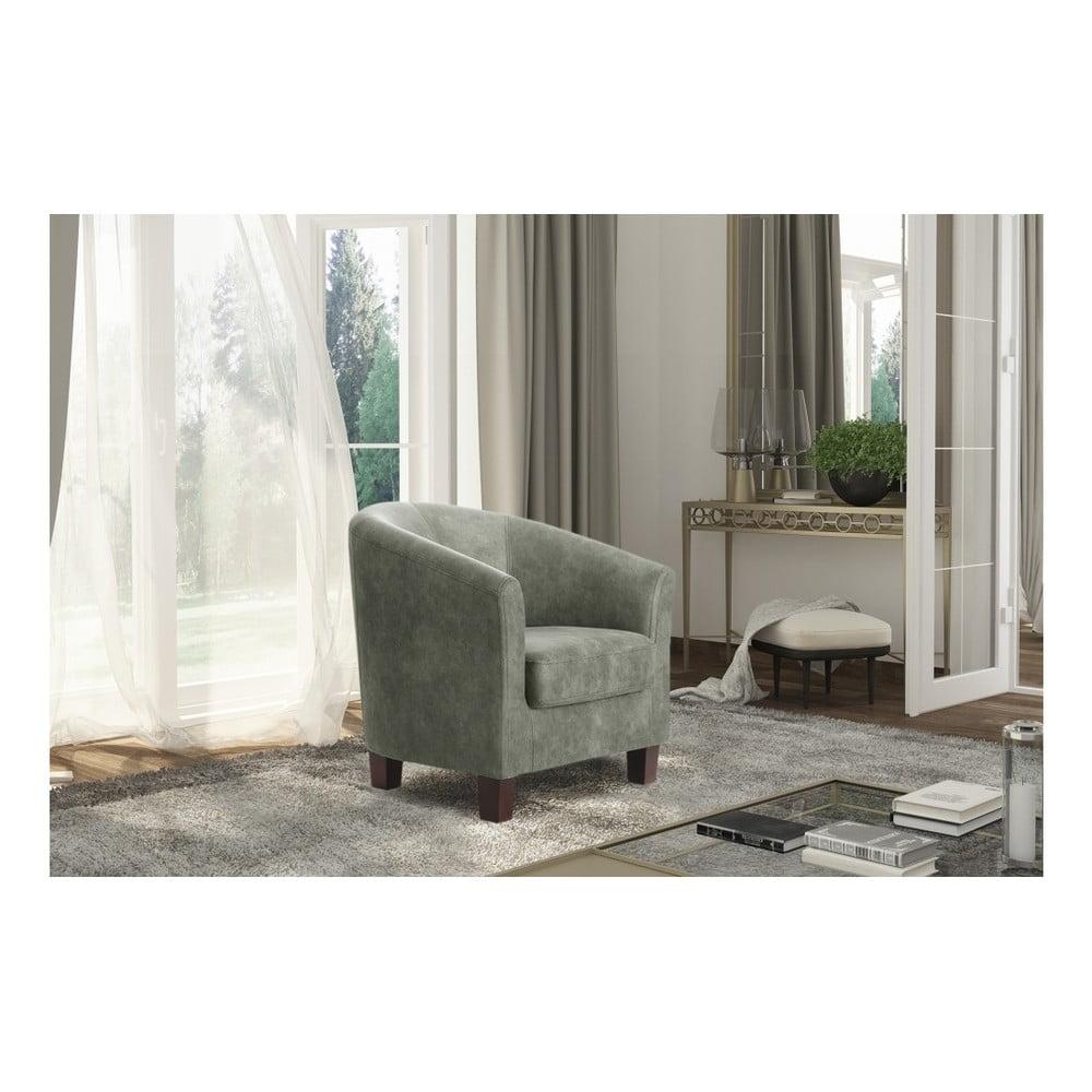 szary fotel interieur de famille paris souvenir bonami. Black Bedroom Furniture Sets. Home Design Ideas