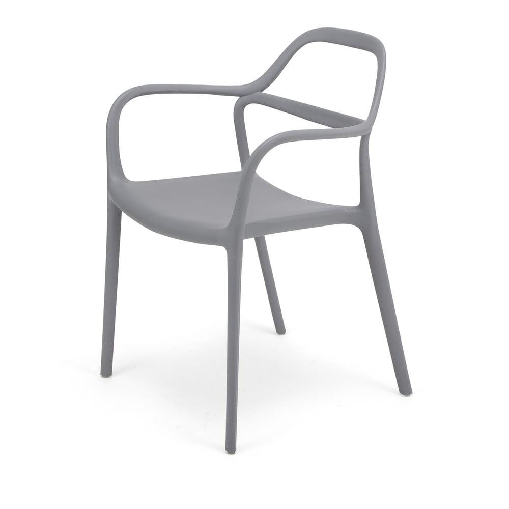 Zestaw 2 szarych krzeseł Le Bonom Dali Chaur