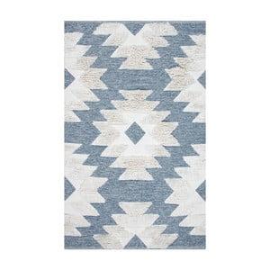 Dywan bawełniany Eco Rugs Blue Indian, 80x150 cm