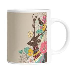 Ceramiczny kubek Well Dressed Deer, 330 ml