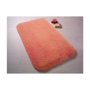 Pomarańczowy dywanik łazienkowy Confetti BathmatsMiami, 57x100 cm
