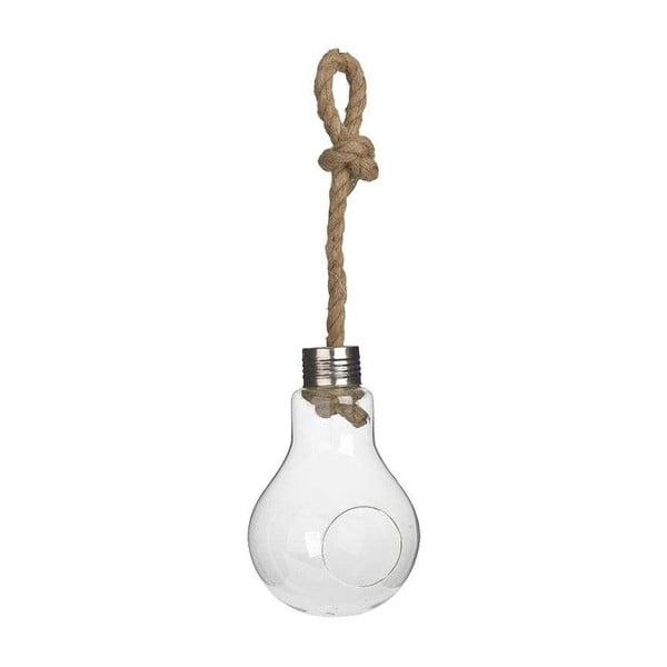 Wiszący wazonik Bulb Pot, 18 cm
