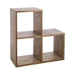 Półka z drewna wtórnego Bizzotto Alvin