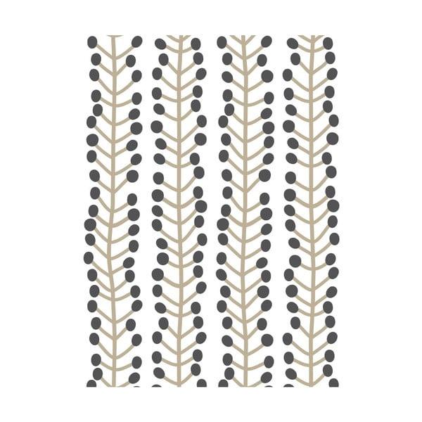 Fizelinowa tapeta Herbs White, 0,53x10,05 m