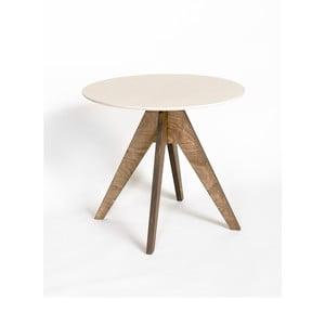 Stół Edi Dark Brown, 85 cm