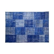 Dywan wełniany Allmode Blue, 200x140 cm