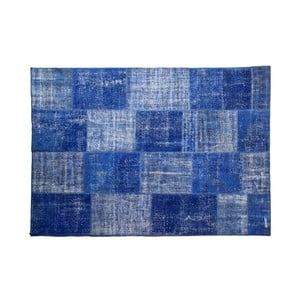Dywan wełniany Allmode Blue, 150x80 cm