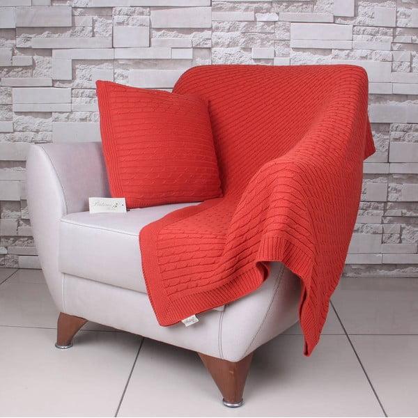 Koc Celma Orange, 130x170 cm