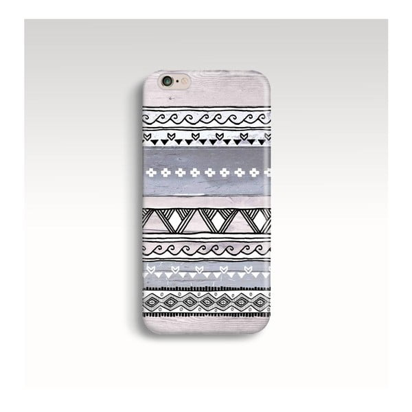 Etui na telefon Wooden Tribal na iPhone 5/5S