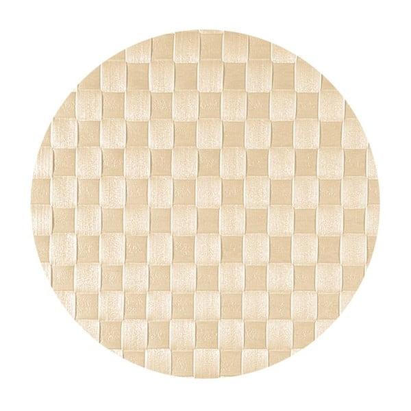 Mata stołowa West Round Ecru, 30x40 cm