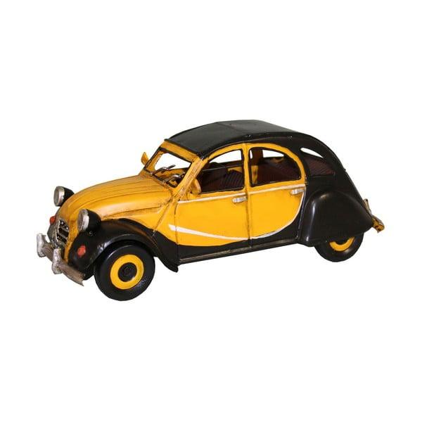 Samochód dekoracyjny Antic Line Yellow CV