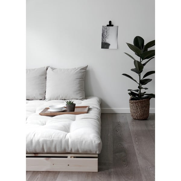 Sofa wielofunkcyjna Karup Design Roots White/Grey