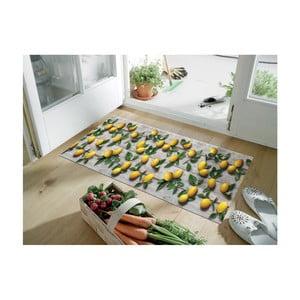 Wytrzymały chodnik kuchenny Webtappeti Limoni, 58x140 cm