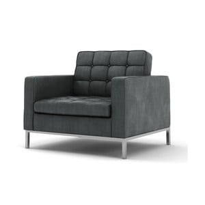 Szary   fotel Wintech Eagle Soft