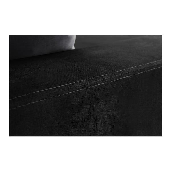 Narożnik Bellini Black/Anthracite, lewostronny