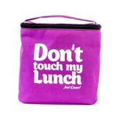 Torba na   lunch i dwa pojemniki Pack & Go Don't Touch My Lunch Violet