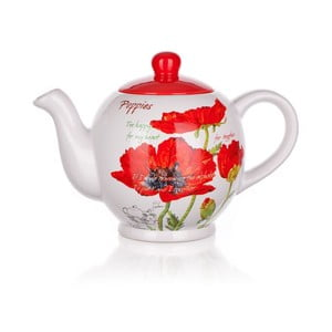 Imbryk Red Poppies, 1200 ml