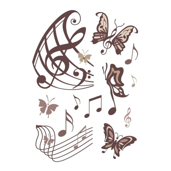 Naklejka Magical Buterflies