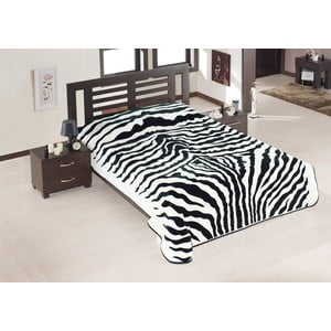 Koc  Black Zebra, 200x240 cm