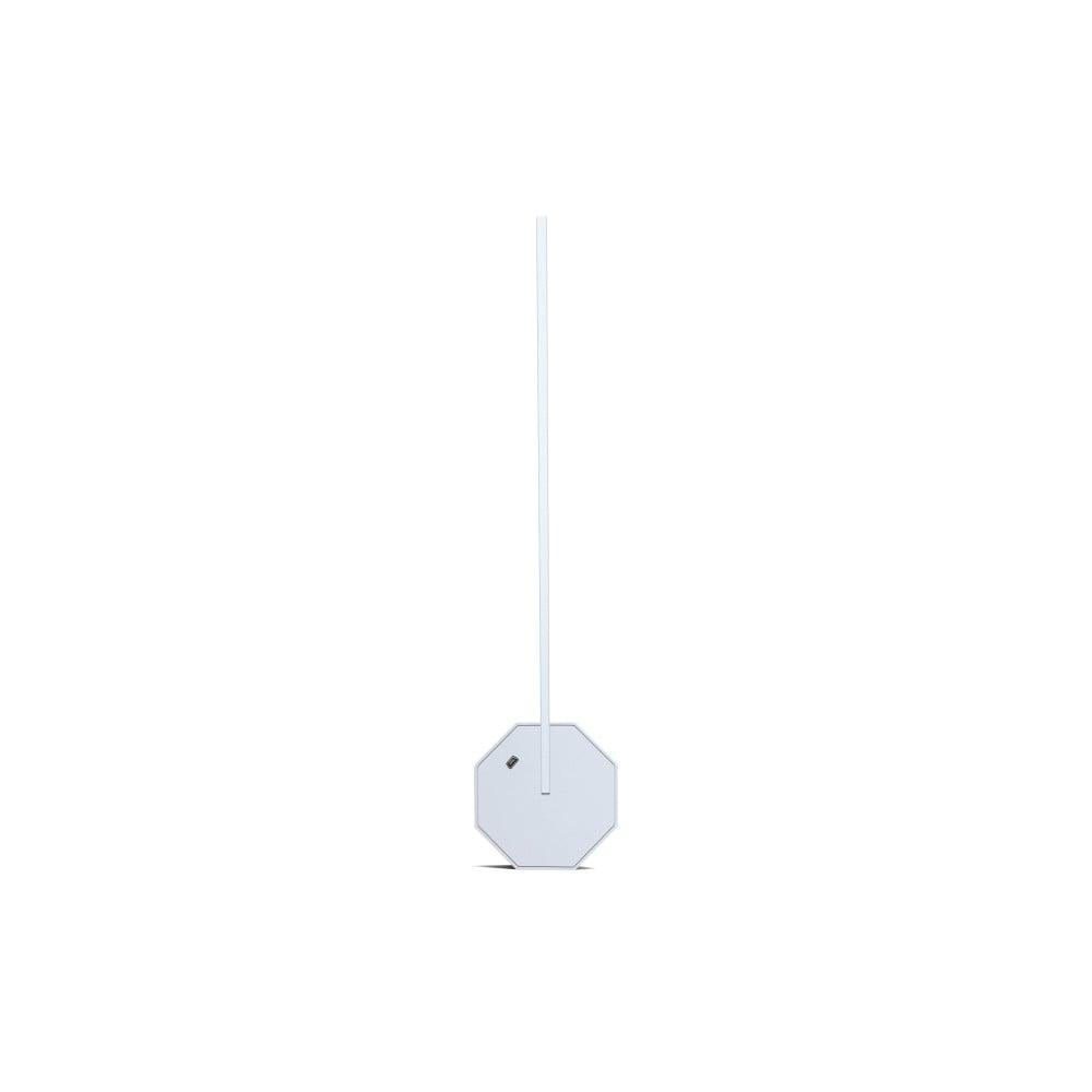 Biała lampa stołowa Gingko Octagon