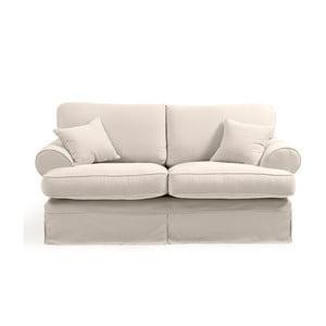 Kremowa sofa 2-osobowa Max Winzer Hermine
