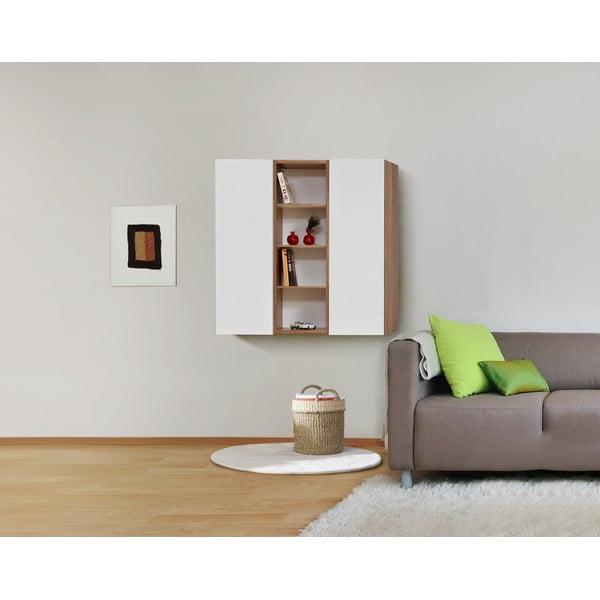 Półki ścienne Decoflex Wall, białe/samba