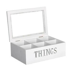 Pudełko z 6 przegródkami Things
