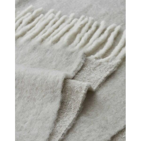 Kremowy pled Marc O'Polo Uni, 130x170 cm