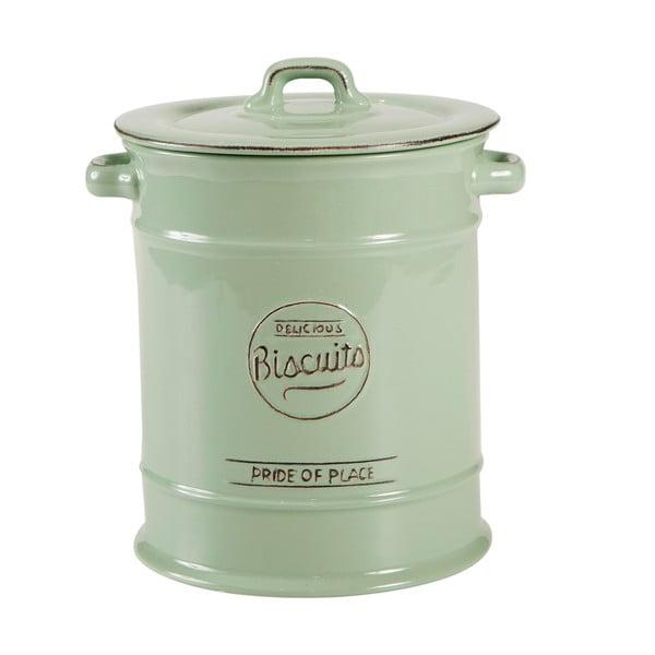 Zielony pojemnik porcelanowy na ciastka T&G Woodware Pride of Place
