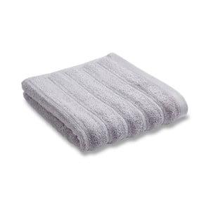 Ręcznik Soft Ribbed Grey, 90x140 cm