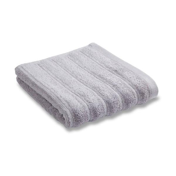 Zestaw 2 ręczników Soft Ribbed Grey, 30x50 cm