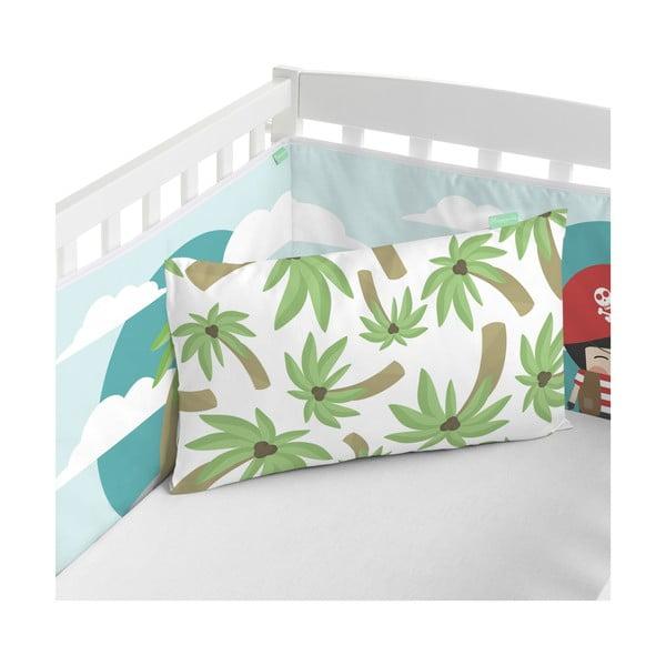 Ochraniacz do łóżeczka Happynois Pirata, 210x40 cm