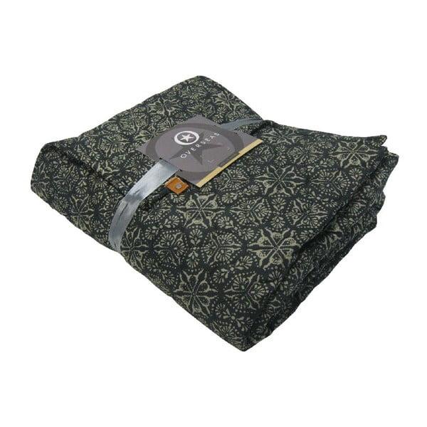 Pled Overseas Porto Black, 140x220 cm