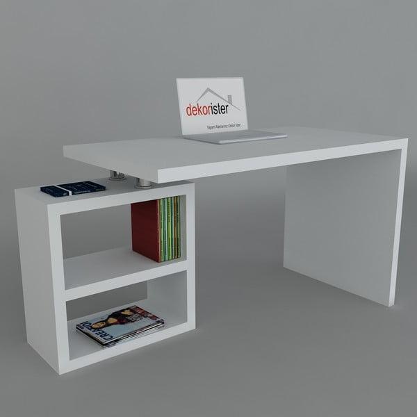 Biurko Swell White, 60x160x75 cm