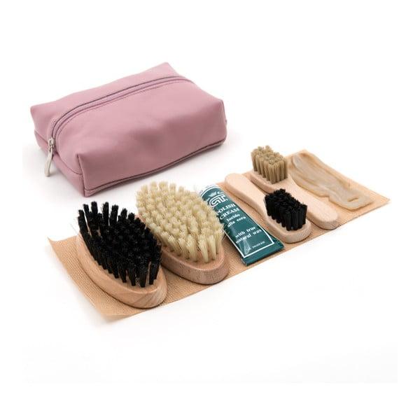 Zestaw do czyszczenia butów Cepi 510, kolor różowy