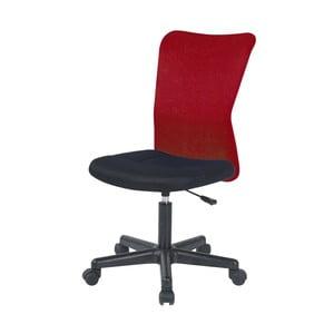 Czerwone krzesło biurowe SOB Officer