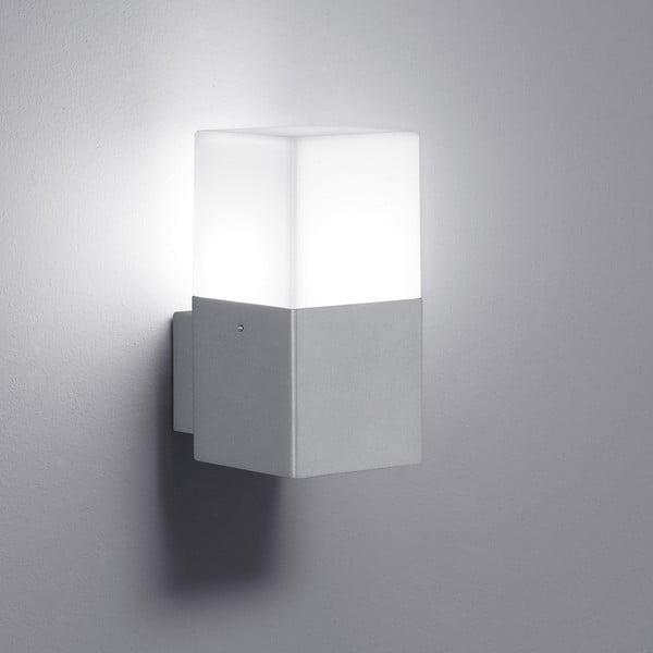 Kinkiet zewnętrzny Hudson Titanium, 17 cm