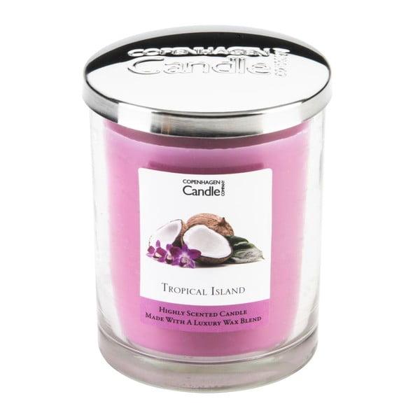 Świeczka zapachowa Copenhagen Candles Tropical Island,czas palenia 40 godz.