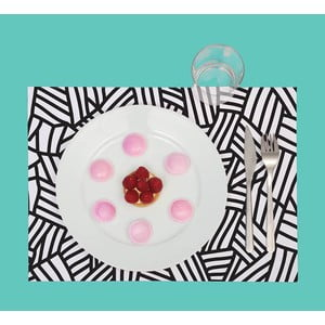 Mata stołowa / blok kolorowanek Grafik, 24 sztuki