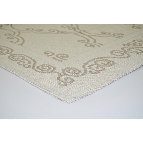 Beżowy wytrzymały dywan Vitaus Primrose, 80x150 cm