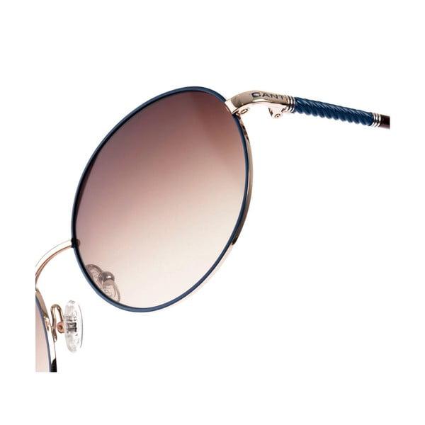 Damskie okulary przeciwsłoneczne GANT Blue Gold