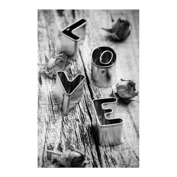 Obraz Black&White Love, 45x70 cm