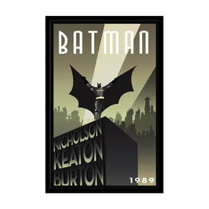 Plakat Batman 1989, 35x30 cm