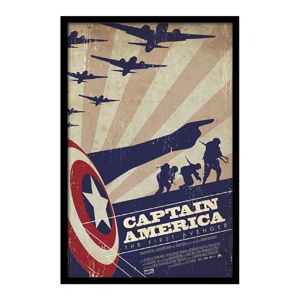 Plakat America, 35x30 cm