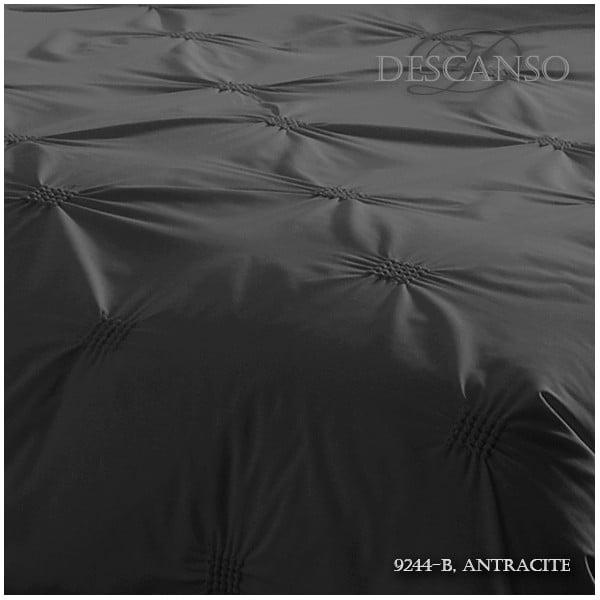 Pościel Descanso Pure Antraciet, 140x200 cm