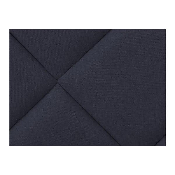 Ciemnoniebieski zagłówek łóżka Windsor & Co Sofas Superb, 140x120 cm