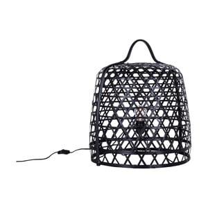 Stojąca lampa bambusowa Canett Octavio, ⌀45cm