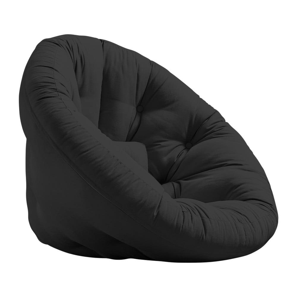 Fotel rozkładany Karup Design Nido Dark Gray
